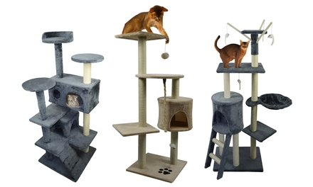 Cat Tree in Choice of Size from €46.99
