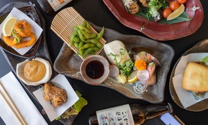 Tatsu Yakitori Bar: Three-Course Japanese Meal Set for One ($32), Two ($60) or Four People ($118) at Tatsu Yakitori Bar (Up to $272 Value)