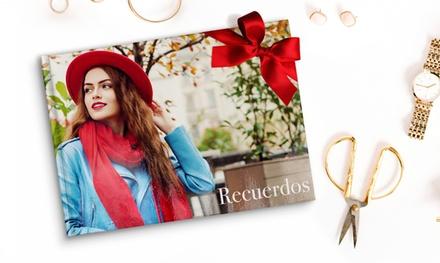 Fotolibros tapa dura A4 y A5 con hasta 50 páginas Especial Navidad desde 1€ (hasta 97% de descuento)