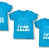 Girls' First Day Of School Tees