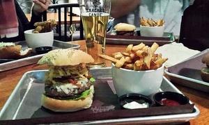 Chop House Burger Bar: Burgers, Wings, and Poutine at Chop House Burger Bar (35% Off)