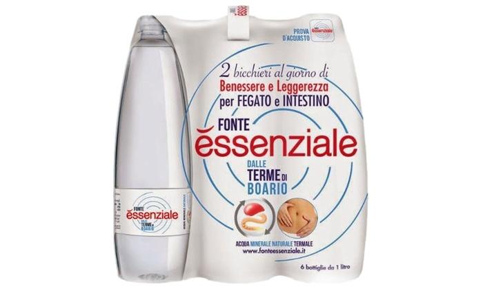 Fonte essenziale fino a 11 casse d 39 acqua groupon goods for Casa essenziale