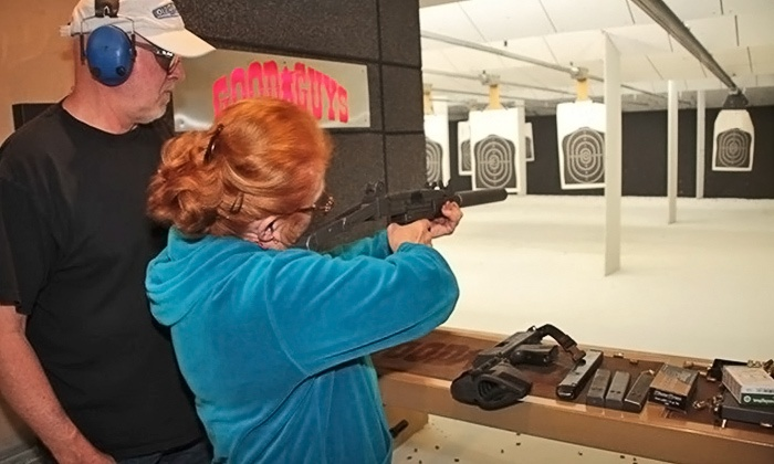 Good Guys Gun Range - Orem: All-Day Range Outing for One or Two with Gun Rental and Ammunition at Good Guys Gun Range (Up to 66% Off)