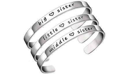 Sister Cuff Bangle