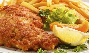 Café de la Passion: 3-Gänge-Schnitzel-Menü für zwei oder vier Personen im Café de la Passion (bis zu 50% sparen*)