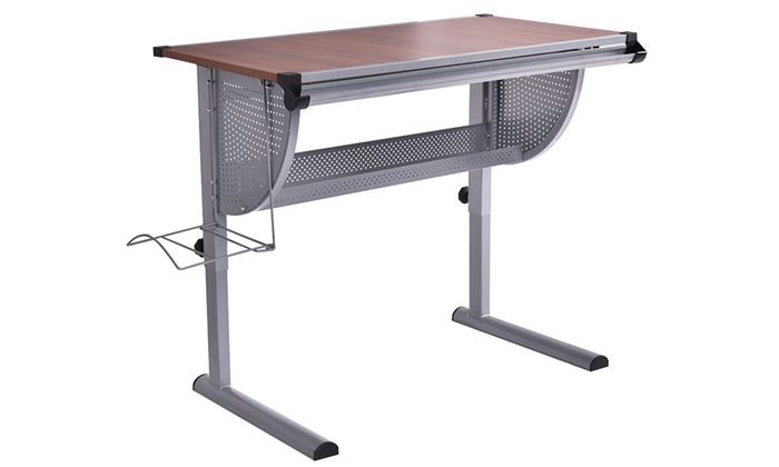 Pleasant Tiltable And Adjustable Art Table Groupon Goods Home Interior And Landscaping Analalmasignezvosmurscom