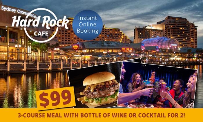 Hard Rock Cafe Sydney Discount