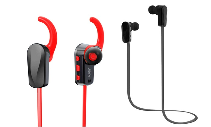jarv nmotion bluetooth earbuds groupon goods. Black Bedroom Furniture Sets. Home Design Ideas