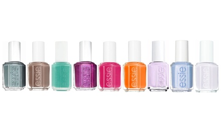 One (£9.98), Two (£17.99) or Three (£23.99) Sets of Nine Essie Nail Varnishes (Up to 89% Off)