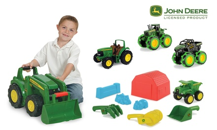 John Deere Boys Sand Pit Toy Bundle $59 or Boys Toys Vehicle Bundle $99 Don't pay up to $144.97