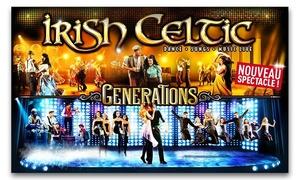 """Indigo-Productions: 1 place pour le spectacle """"Irish Celtic"""" dès 29 €"""