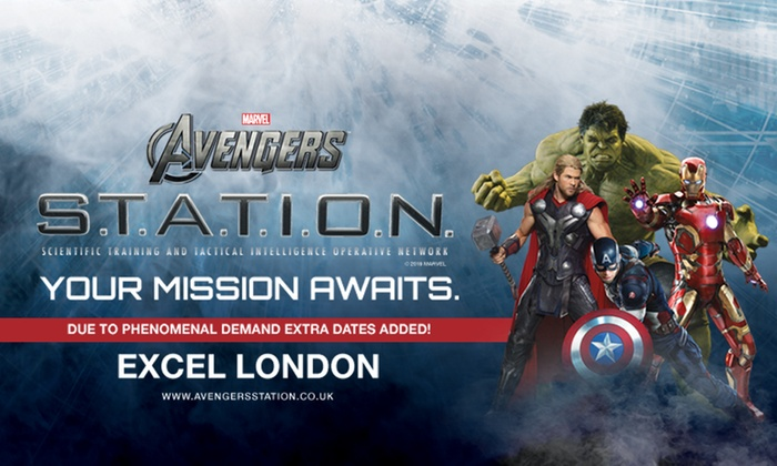 Marvel Avengers S T A T I O N - Interactive Exhibit in
