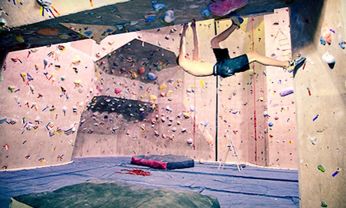 Strong Hold Climbing Gym at Hester's Family Fitness - South Side: Indoor Rock Climbing at Strong Hold Climbing Gym at Hester's Family Fitness (Up to 87% Off). Three Options Available.