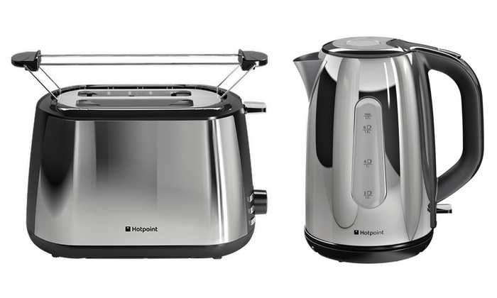 Hotpoint Kettle and Toaster Set