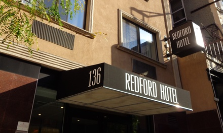 Stay at Redford Hotel in New York, NY. Dates into March,