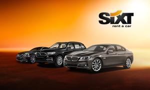 Sixt: 15% Rabatt auf einen Premium-Mietwagen bei Sixt