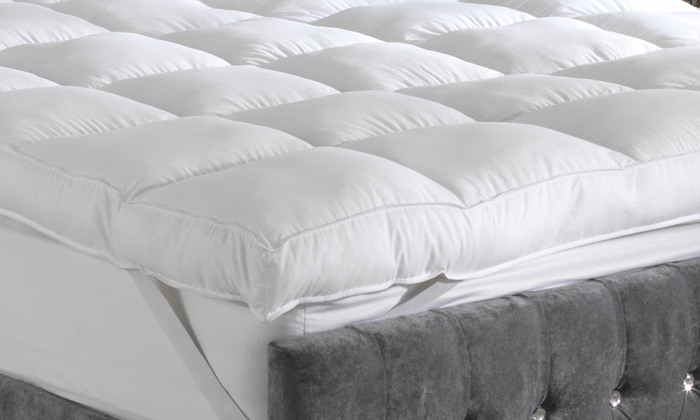 wholesale dealer b1979 fb0f7 Sleeping on a Cloud Deep Cotton Mattress Topper