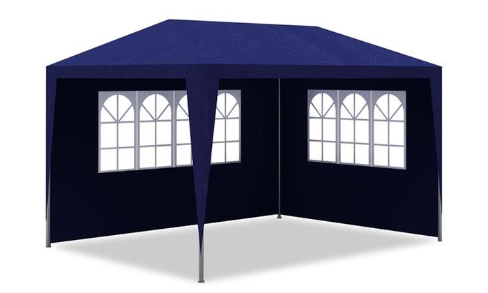 jusqu 39 43 tente de r ception groupon. Black Bedroom Furniture Sets. Home Design Ideas