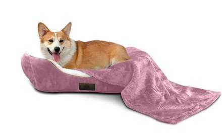 AKC Deluxe Pet-Bed Set (3-Piece)