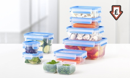 Emsa Clip and Close Glass Food Containers from £5.98