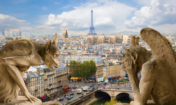 5- or 8-Day Paris Vacation with Airfare from Great Value Vacations