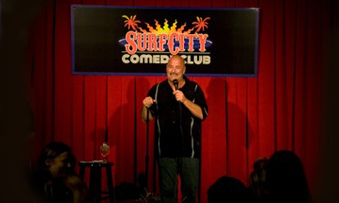 Surf City Comedy Club - Surf City Comedy Club: Comedy Show and Drinks for Two or Four at Surf City Comedy Club in Huntington Beach (Up to 57% Off)