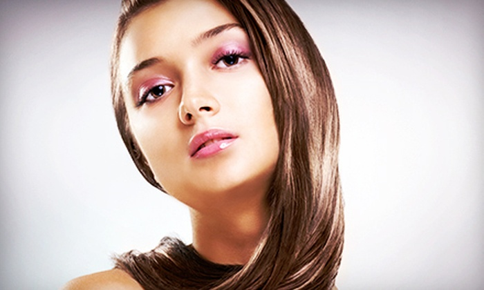 ColorFX - ColorFX Salon: Haircut with Partial or Full Highlights, or an Agave Smoothing Treatment at ColorFX (Up to 57% Off)