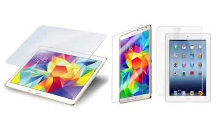 Protector de pantalla de cristal templado para iPad y Samsung Tab desde 6,99 € (hasta 72% de descuento)