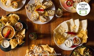 El Botin - Mexican Bar: Rodízio mexicano para 1 ou 2 pessoas no El Botin Mexican Bar - Santo André