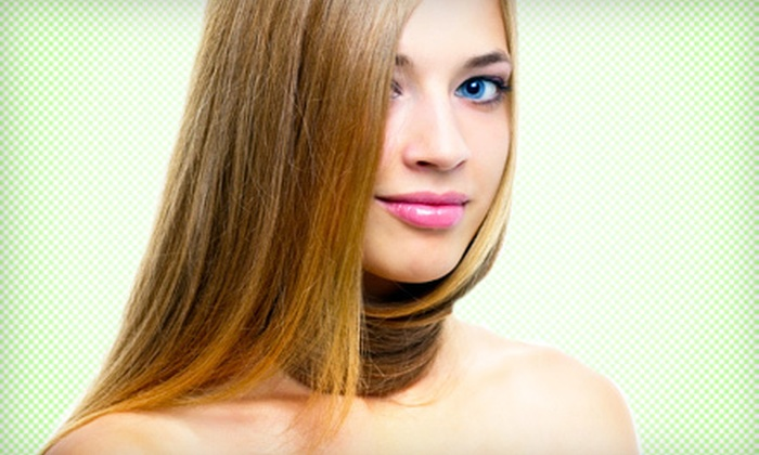 MLC Salon - Lyndhurst: Keratin Smoothing Treatment with Optional Follow-Up Blowout at MLC Salon in North Arlington (Up to 71% Off)