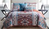 Reversible Quilt Set Collection (4- or 5-Piece): Reversible Quilt Set Collection (4- or 5-Piece)