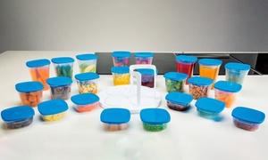 Set de 24 boites alimentaires