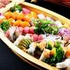 Menu con 60 pezzi di sushi e vino