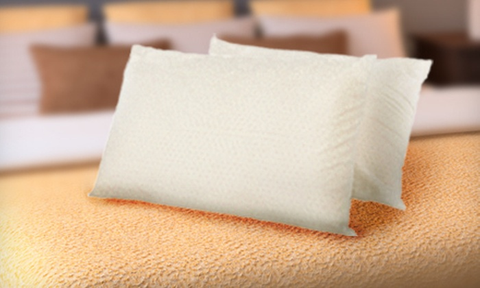 Talatech Latex-Foam Pillows: $29 for Two 230-Thread-Count Talatech Latex-Foam Pillows in Standard, Queen, or King Size ($80 Value)