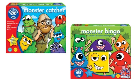 Orchard Toys Monster Bingo or Monster Catcher Games