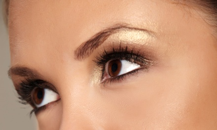 Permanent Eyeliner on the Upper or Lower Lid for One with Optional Permanent Makeup at Trivine