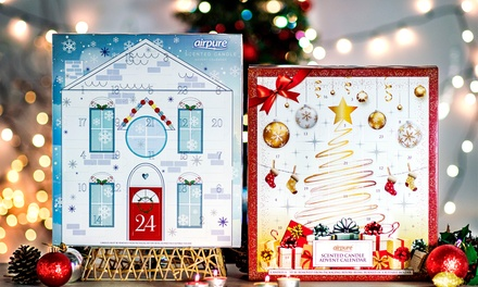 One or Two Airpure Christmas Candle Advent Calendars
