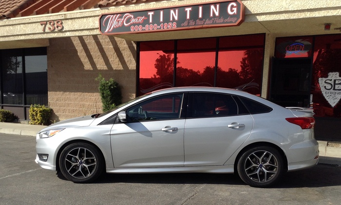 California Window Tint >> West Coast Tinting Up To 48 Off San Bernardino Ca Groupon
