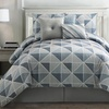 Lynwood 7-Piece Jacquard Comforter Set