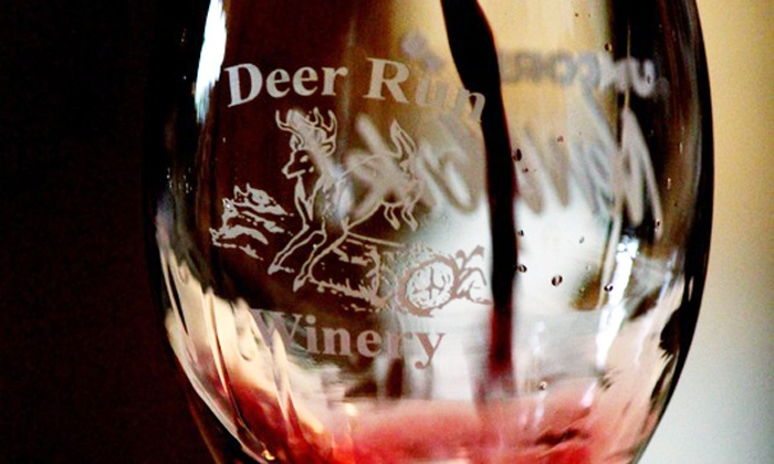 Deer Run Winery - Deer Run Winery: Wine, Chocolate, and Cheese Tasting for Two, Four, or Six at Deer Run Winery (50% Off)