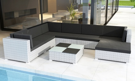 Modular Rattan Sofa Sets, 3 Sizes