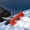 Snow Joe Illum-n-Broom LED-Lighted 4-in-1 Snow Broom and Ice Scraper