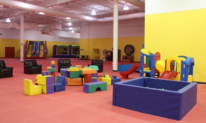 Bounce Around - Wheaton: Open-Play Passes for One, Two, or Four Children at Bounce Around (Up to 40% Off)