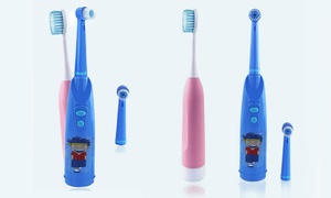 Kids' Electric Toothbrushes with Soft Bristles (Set of 2)