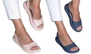 Sandales ouvertes semelle épaisse