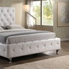 Baxton Studio Tufted Upholstered Platform Bed