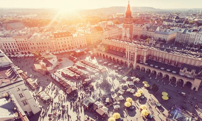 KPX Travel LTD - Krakow: ✈ Krakow: Up to 4 Nights with Return Flights, Auschwitz Memorial Museum Tour and Accommodation at Hotel Wyspiański*