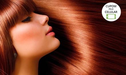Solaris Hair Studio Bela Vista: progressiva ou botox opção com escova modeladora e corte