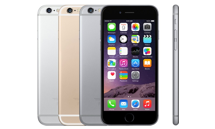 Clickwrap: Refurbished Apple iPhone 6 16GB (€369.99) or 64GB (€419.99) With Free Delivery