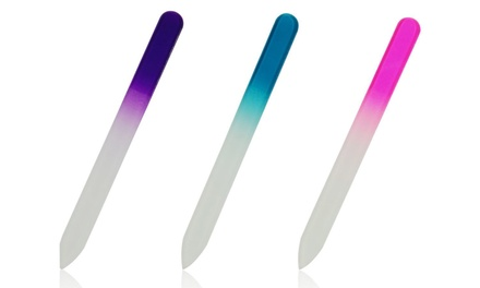 Glass Nail File Three-Pack from £4 (Up to 81% Off)